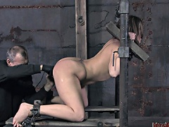 He washes her mouth out with cock and then the lessons start. She...