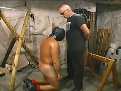Slave gets badly abused by his master