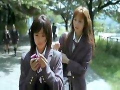 Japanese girls talk about their problems and one goes for a walk