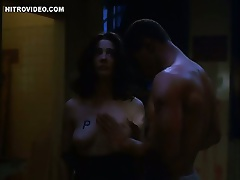 Hot Moira Kelly Is Forced To Show Her Juicy Knockers