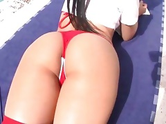 Succulent Abella Anderson has a perfect round ass