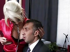 Amazing Alexis Ford gets her tits out for her boss