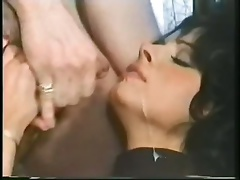Extremely Hot Vintage Babe Bridgette Monet Gets Fucked and Facialized