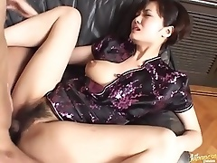 Sexy Asian Fucking And Sucking With Her Sexy Japanese Outfit