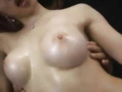 Akari Hoshino starts off the movie with some sex toy engulfing and fake penis fucking. More scenes follow with some thraldom  blowjobs  cookie licking