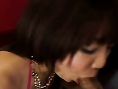 On a slothful afternoon, slutty Japanese coed Maki Hoshino can't live without a thick, hard jock in her mouth. Watch her slowly slip her tongue a