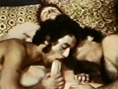 These three sexual young guys are playing with their dicks!...