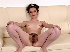 Viky Kiss and Frey are gorgeous hairy pussy lesbians that enjoy...
