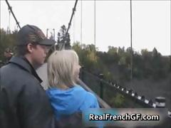 Amazing french gf vacation sex part1