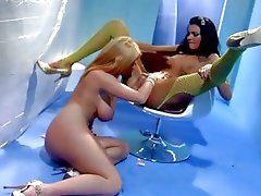 Sea J Raw and Sophie Dee have a sexy sweet tooth