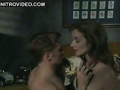 Susannah Devereux In a Leather Outfit Has Some BDSM Fun With a Guy