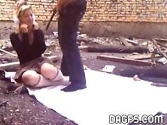 Outdoor anal session in Kracovia
