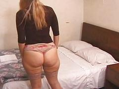Her sweet ass beat to red